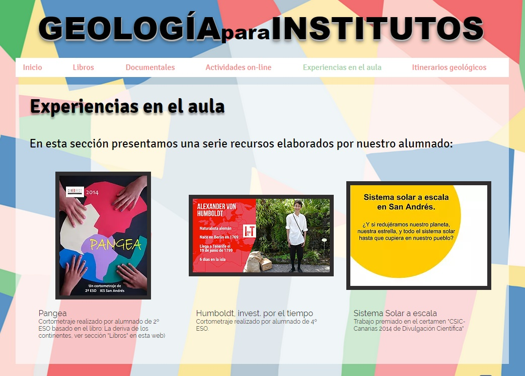 geología para institutos